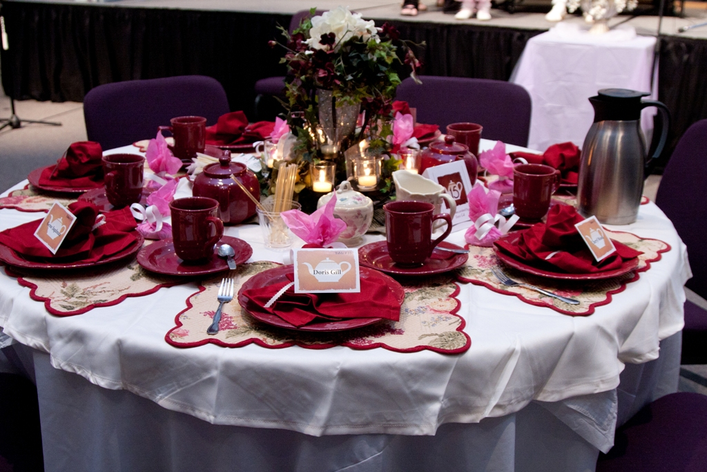 Mothers day banquet table decorations photograph day 1036