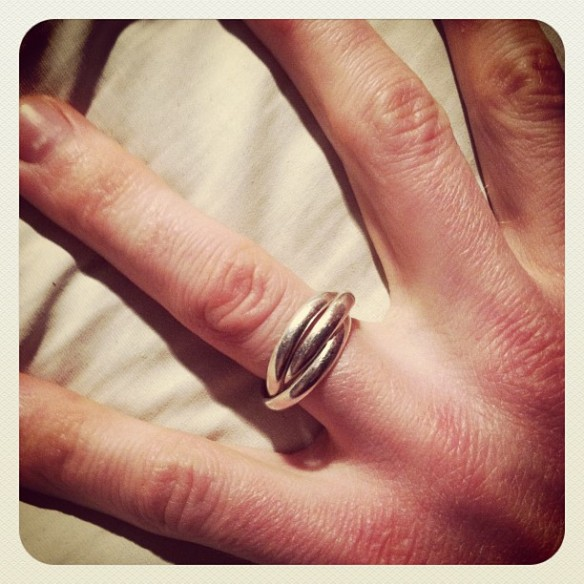 Day 1340 How Many Rings Has Your Husband Lost I Bet Mine Wins